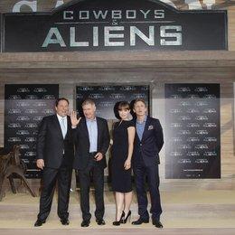 "Deutschlandpremiere ""Cowboys & Aliens"" / Jon Favreau / Harrison Ford / Olivia Wilde / Daniel Craig Poster"