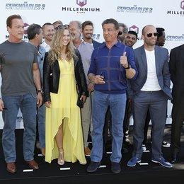 Expendables Team / 67. Internationale Filmfestspiele Cannes 2014 / Arnold Schwarzenegger / Ronda Rousey / Sylvester Stallone / Jason Statham / Harrison Ford Poster