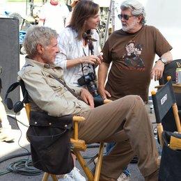 Indiana Jones und das Königreich des Kristallschädels / Set / Harrison Ford / George Lucas Poster