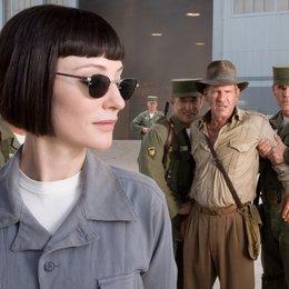 Indiana Jones und das Königreich des Kristallschädels / Cate Blanchett / Harrison Ford Poster