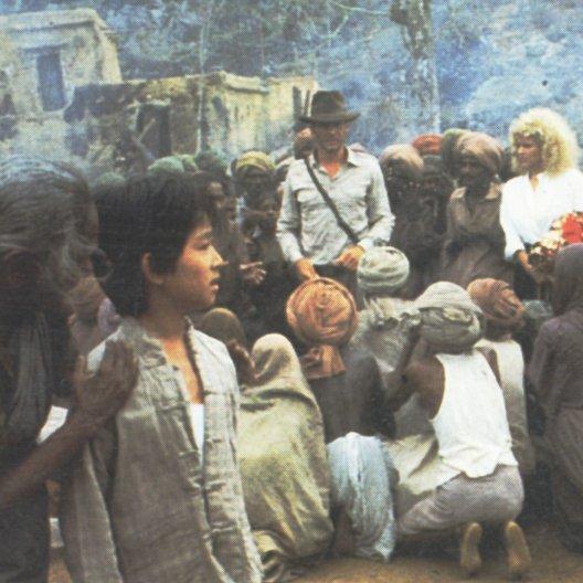 Indiana Jones und der Tempel des Todes / Harrison Ford / Kate Capshaw / Ke Huy-Quan Poster