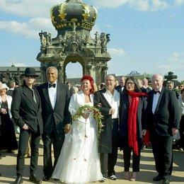 50-jähriges Bühnenjubiläum von Hermjo Klein / 2004 Hochzeit mit Viola und prominenten Trauzeugen, Udo Lindenberg, Harry Belafonte, Nana Mouskouri und Ministerpräsident Georg Milbrandt Poster