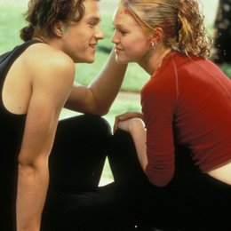 10 Dinge, die ich an dir hasse / Julia Stiles / Heath Ledger Poster