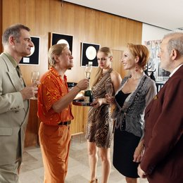 große Comeback, Das (ZDF) / Uwe Ochsenknecht / Andrea Sawatzki / Leonard Lansink / Heinrich Schafmeister Poster