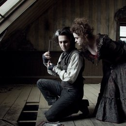 Sweeney Todd - Der teuflische Barbier aus der Fleet Street / Sweeney Todd / Johnny Depp / Helena Bonham Carter Poster