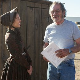 Homesman, The / Set / Hilary Swank / Tommy Lee Jones Poster