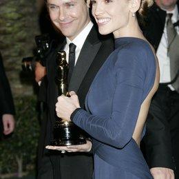 Vanity Fair Oscar Party 2005 / Oscar 2005 / Hilary Swank und Ehemann Poster
