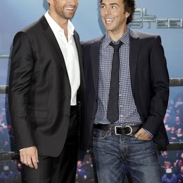 "Jackman, Hugh / Levy, Shawn / Photocall ""Real Steel"""