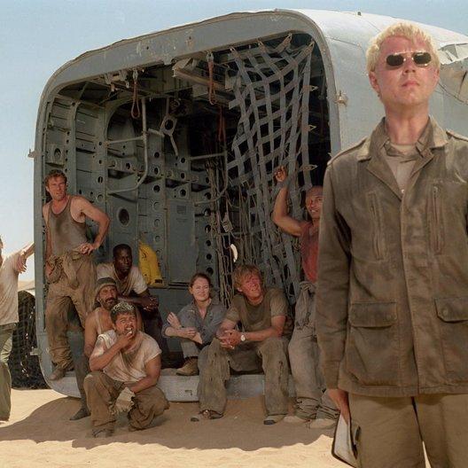 Flug des Phoenix, Der / Hugh Laurie / Dennis Quaid / Jacob Vargas / Tyrese Gibson / Miranda Otto / Sticky Fingaz / Tony Curran / Giovanni Ribisi Poster