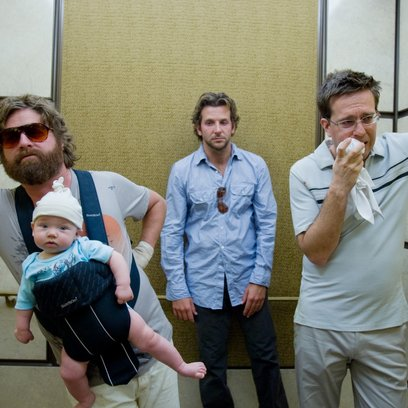 Hangover / Zach Galifianakis / Bradley Cooper / Ed Helms Poster