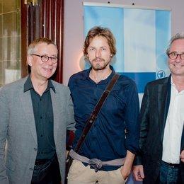 WDR lädt zur Happy Hour im Rahmen des Filmfests München / Gebhard Henke, Hans Steinbichler und Uli Aselmann Poster