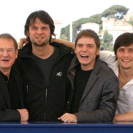 57. Filmfestival Cannes 2004 - Festival de Cannes / Burghart Klaußner / Hans Weingartner / Daniel Brühl / Stipe Erceg