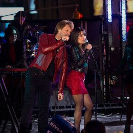 Happy New Year / Jon Bon Jovi / Lea Michele Poster