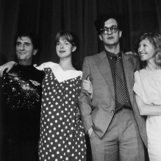 "Cannes 1984 / Harry Dean Stanton / Nastassja Kinski / Wim Wenders (Goldene Palme ""Paris, Texas) / Aurore Clément Poster"