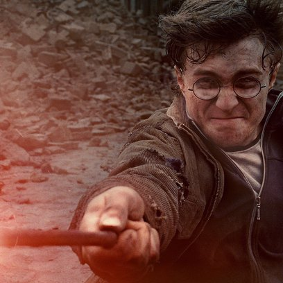 Harry Potter und die Heiligtümer des Todes Teil 2 / Daniel Radcliffe / Harry Potter Zauberer Collection Poster