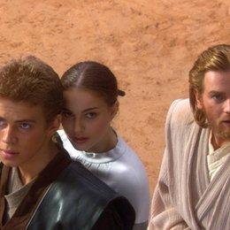 Star Wars: Episode II - Angriff der Klonkrieger / Hayden Christensen / Natalie Portman / Ewan McGregor / Star Wars: Episode II - Attack of the Clones