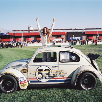 Herbie Fully Loaded / Lindsay Lohan Poster