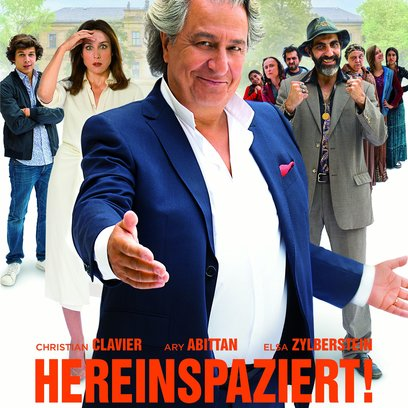 Hereinspaziert! Poster