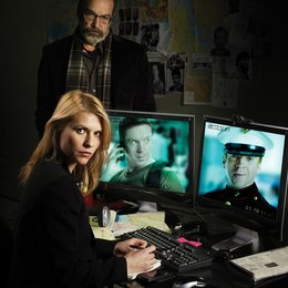 Homeland / Claire Danes / Mandy Patinkin Poster