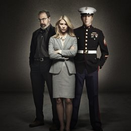 Homeland / Damian Lewis / Claire Danes / Mandy Patinkin Poster