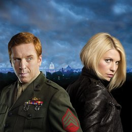 Homeland - Staffel 2 / Homeland - Staffel 1 / Homeland / 2. Staffel / Damian Lewis / Claire Danes / Homeland (Season 2) Poster