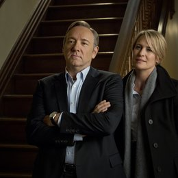 House of Cards / House of Cards (1. Staffel, 13 Folgen) / Kevin Spacey / Robin Wright Poster