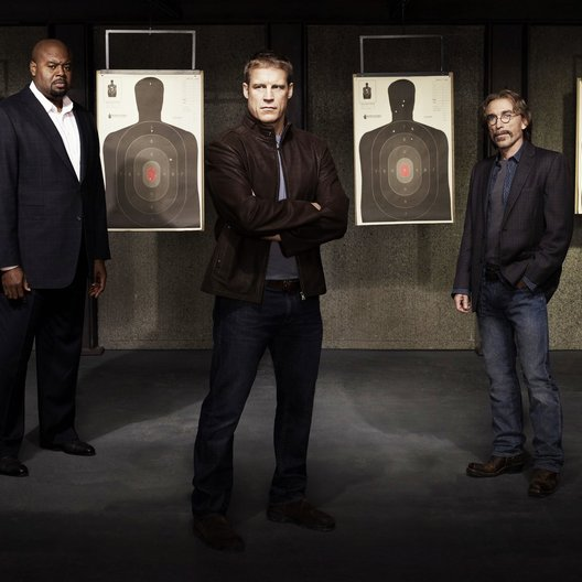 Human Target / Chi McBride / Mark Valley / Jackie Earle Haley Poster