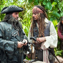 Pirates of the Caribbean - Fremde Gezeiten / Ian McShane / Johnny Depp Poster