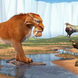 Ice Age 2 - Jetzt taut's /  Diego Poster