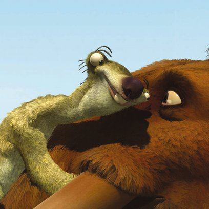 Ice Age / Faultier Sid und Mammut Mannie Poster