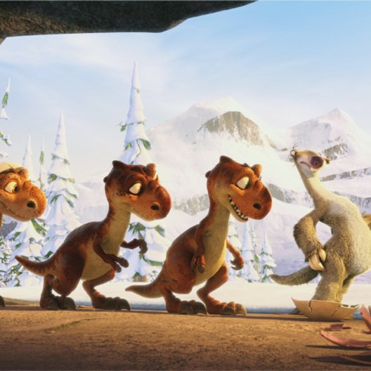 Ice Age 3 - Die Dinosaurier sind los / Ice Age 1, 2 & 3 Poster