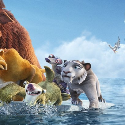 Ice Age 4 - Voll verschoben / Ice Age 1-4 Poster