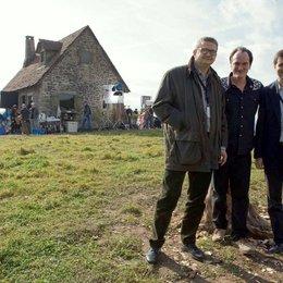 Inglourious Basterds / Set / Markus Görsch, Quentin Tarantino und Peter Förster Poster