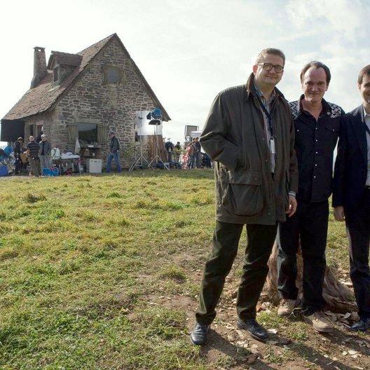 Inglourious Basterds / Set / Markus Görsch, Quentin Tarantino und Peter Förster