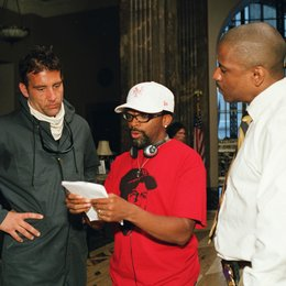 Inside Man / Clive Owen / Spike Lee / Denzel Washington / Set Poster