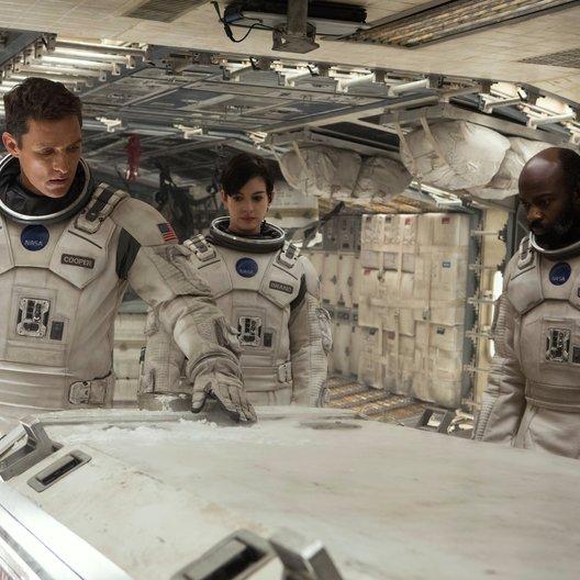 Interstellar / Matthew McConaughey / Anne Hathaway / David Gyasi Poster