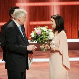 23. Bayerischer Fernsehpreis / Prinzregententheater München / / Iris Berben / Horst Seehofer Poster