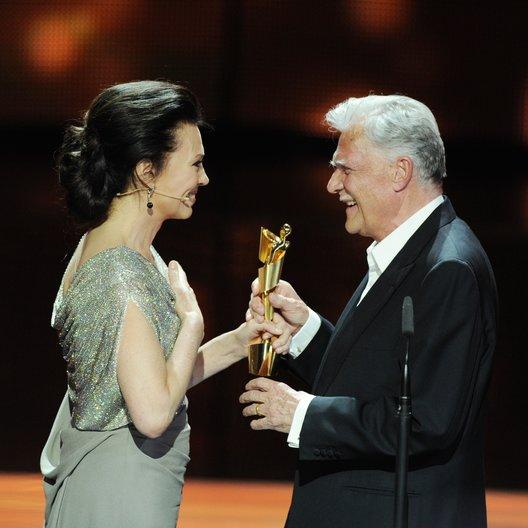 62. Deutscher Filmpreis 2012 / Iris Berben und Michael Ballhaus Poster