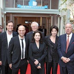 Felix Bruder, Christian Bräuer, Detlef Roßmann, Hannelore Elsner, Iris Berben und Bernd Neumann beim Festakt zu 40 Jahren AG Kino (v.l.) Poster