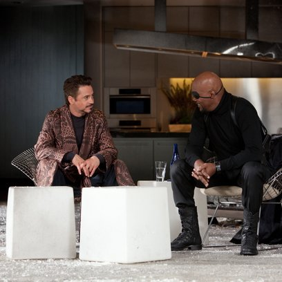 Iron Man 2 / Robert Downey Jr. / Samuel L. Jackson Poster