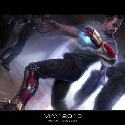 Iron Man 3 / Robert Downey Jr. Poster