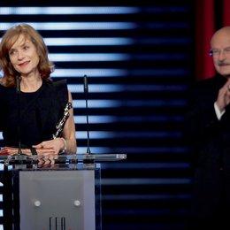 22. Verleihung des Europäischen Filmpreises in Bochum / Isabelle Huppert und Volker Schlöndorff