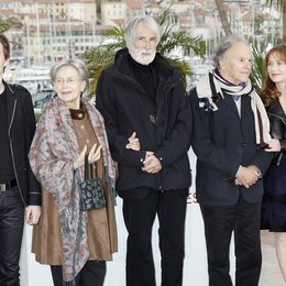 Tharaud, Alexandre / Riva, Emmanuelle / Haneke, Michael / Trintignant, Jean-Louis / Huppert, Isabelle / 65. Filmfestspiele Cannes 2012 / Festival de Cannes