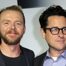 "Pegg, Simon / Abrams, J.J. / DVD- und Blu-ray-Debut von ""Star Trek: Into Darkness"" in Los Angeles Poster"