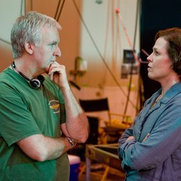 Avatar - Aufbruch nach Pandora / Set / James Cameron / Sigourney Weaver Poster