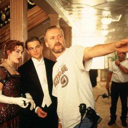 Titanic 3D / Set / Kate Winslet / Leonardo DiCaprio / James Cameron Poster