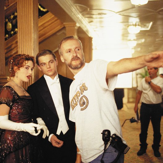 Titanic / Kate Winslet / Leonardo DiCaprio / James Cameron / Set