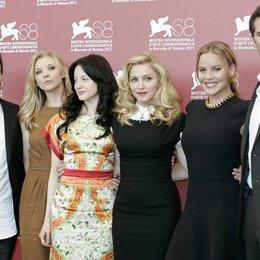 Oscar Isaac / Madonna / Andrea Riseborough / Abbie Cornish / James D'Arcy / 68. Internationale Filmfestspiele Venedig 2011 Poster