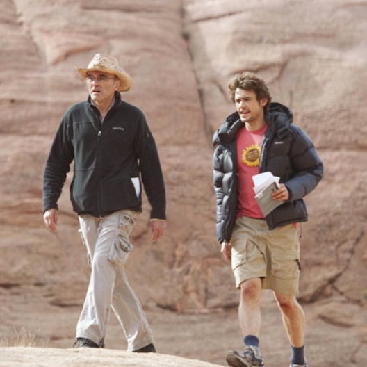 127 Hours / Danny Boyle / James Franco / Set Poster
