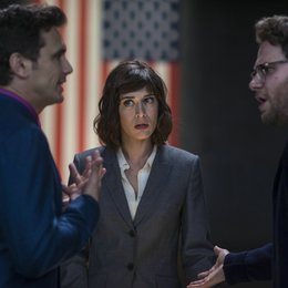 Interview, The / James Franco / Lizzy Caplan / Seth Rogen Poster
